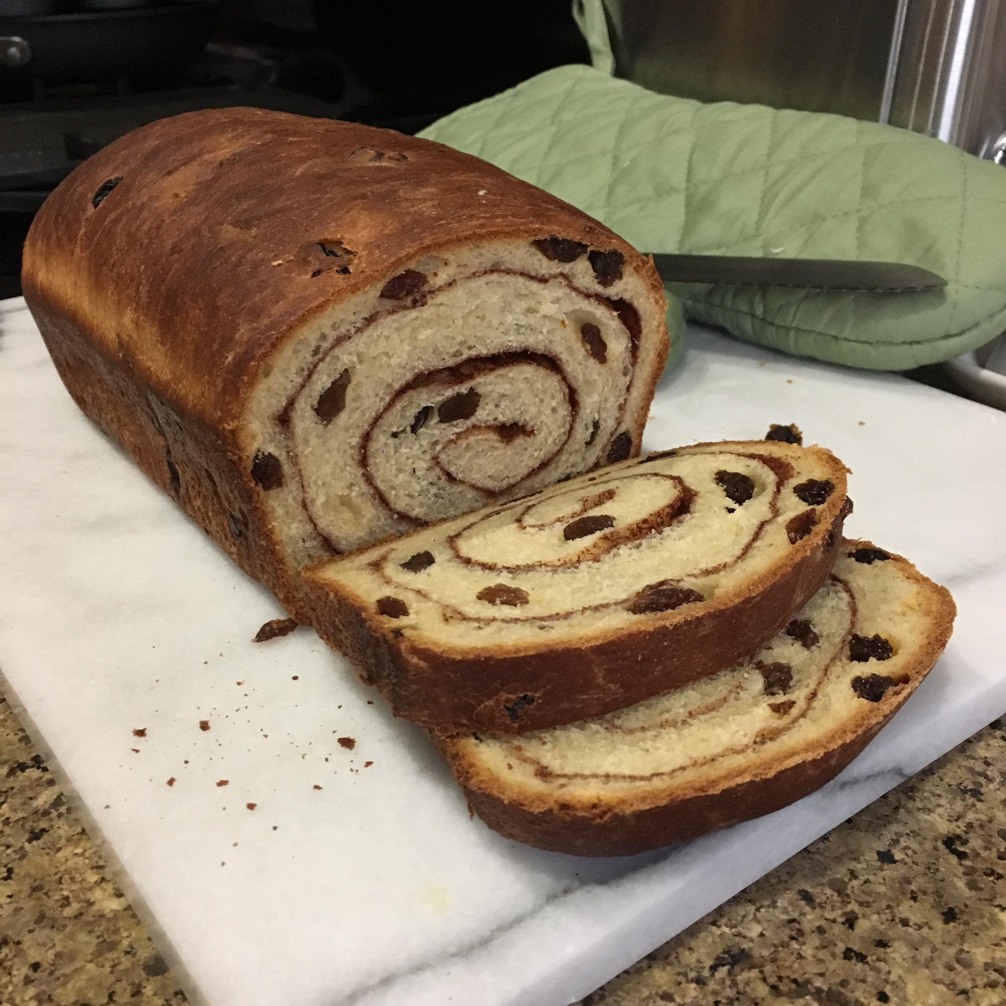 Cinnamon Raisin Bread I Stevie T