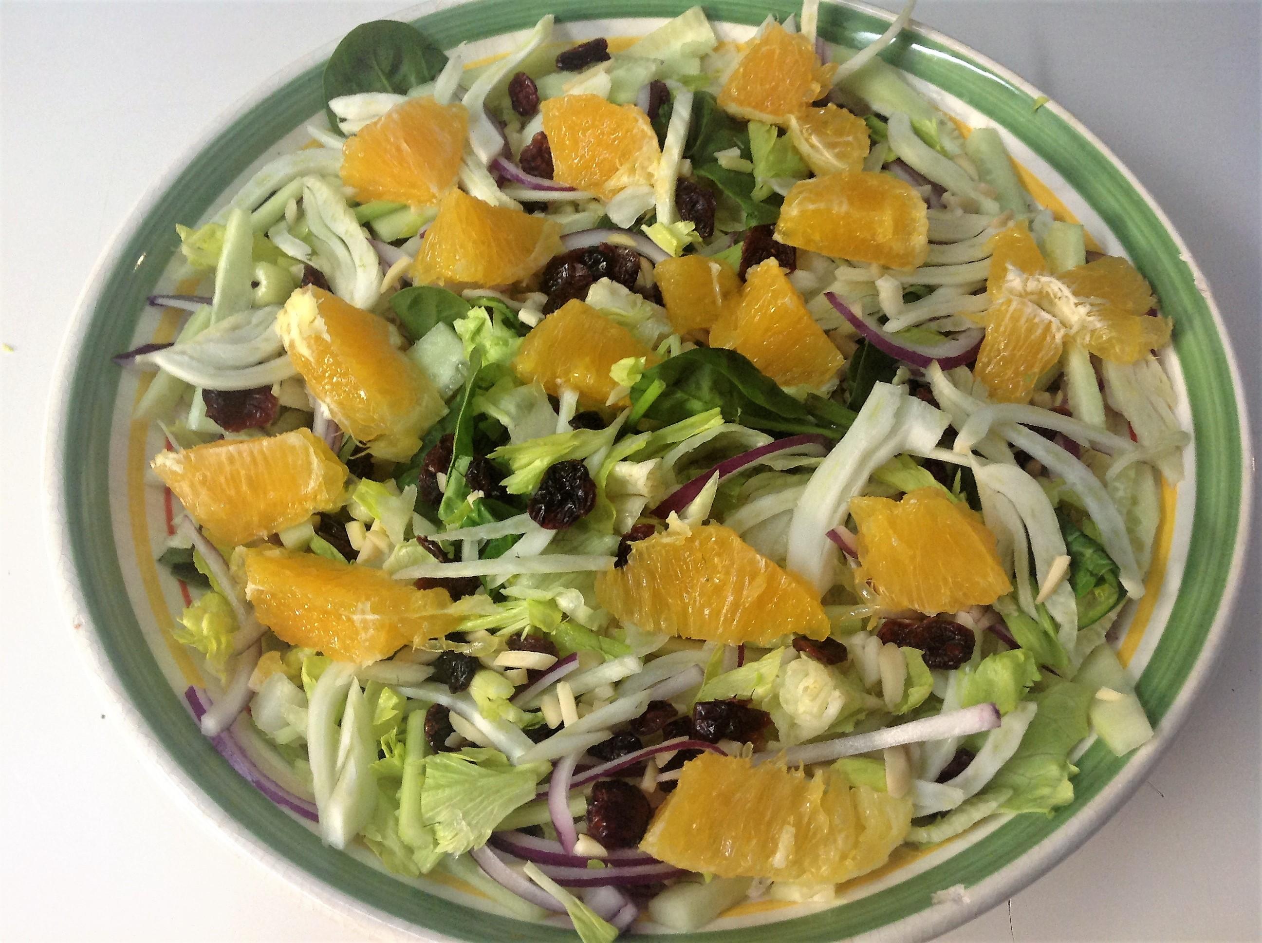 Spring Salad with Fennel and Orange James