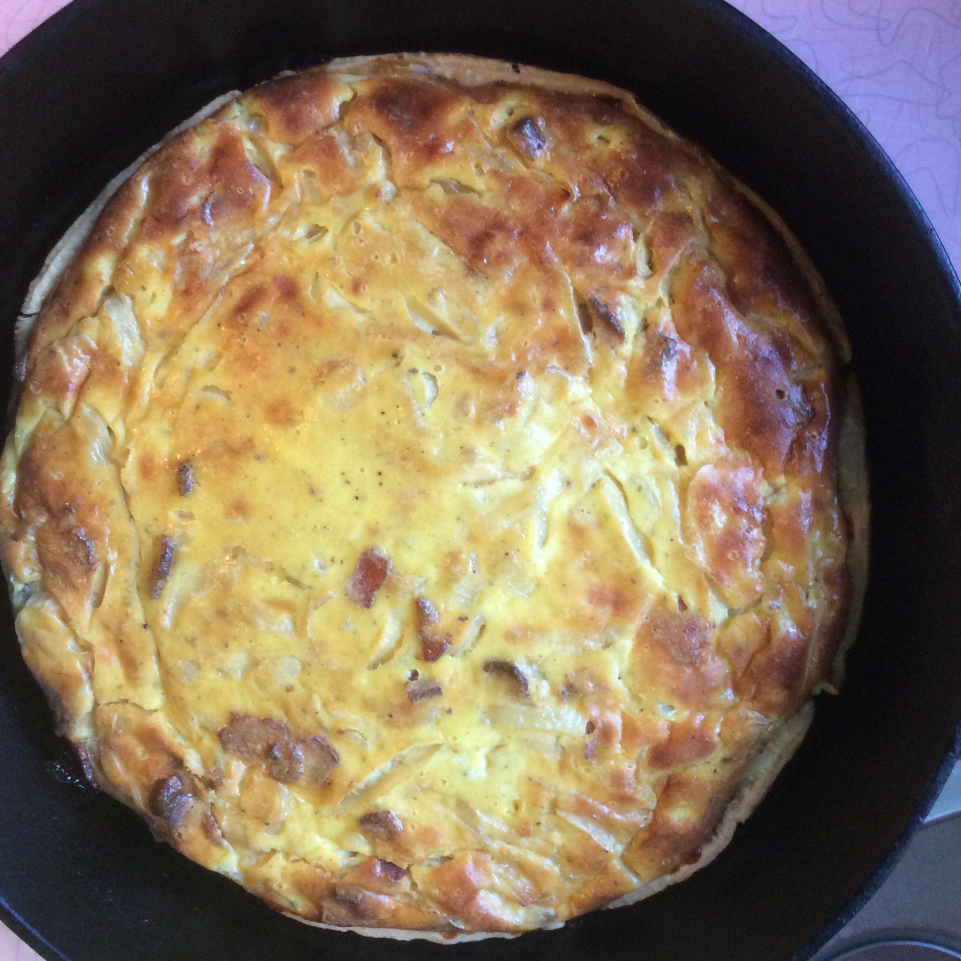 German Zwiebelkuchen (Onion Pie) Wags