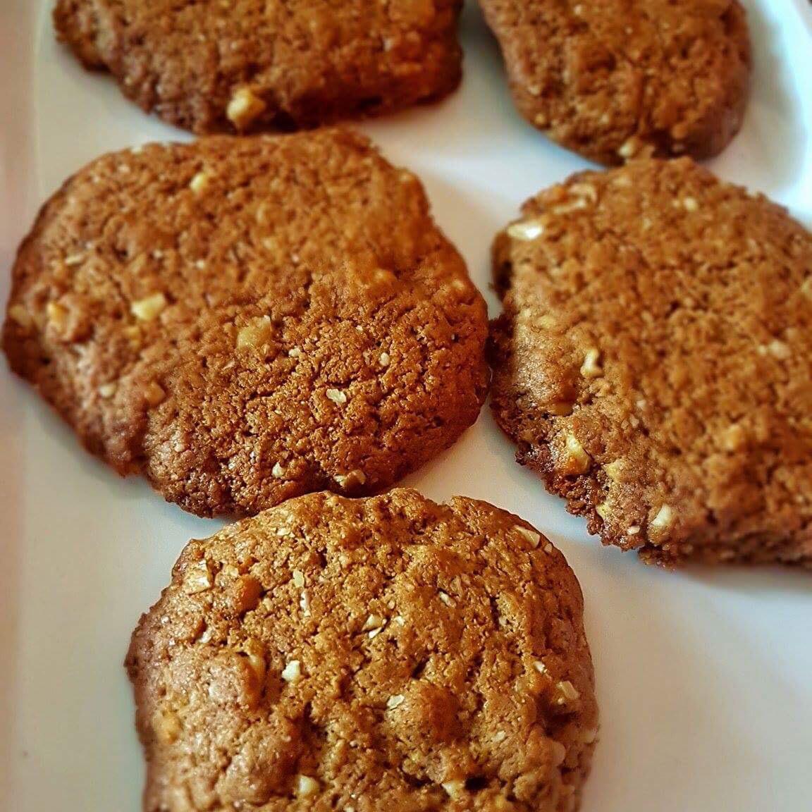 Black Walnut Cookies I Shalini Sharma
