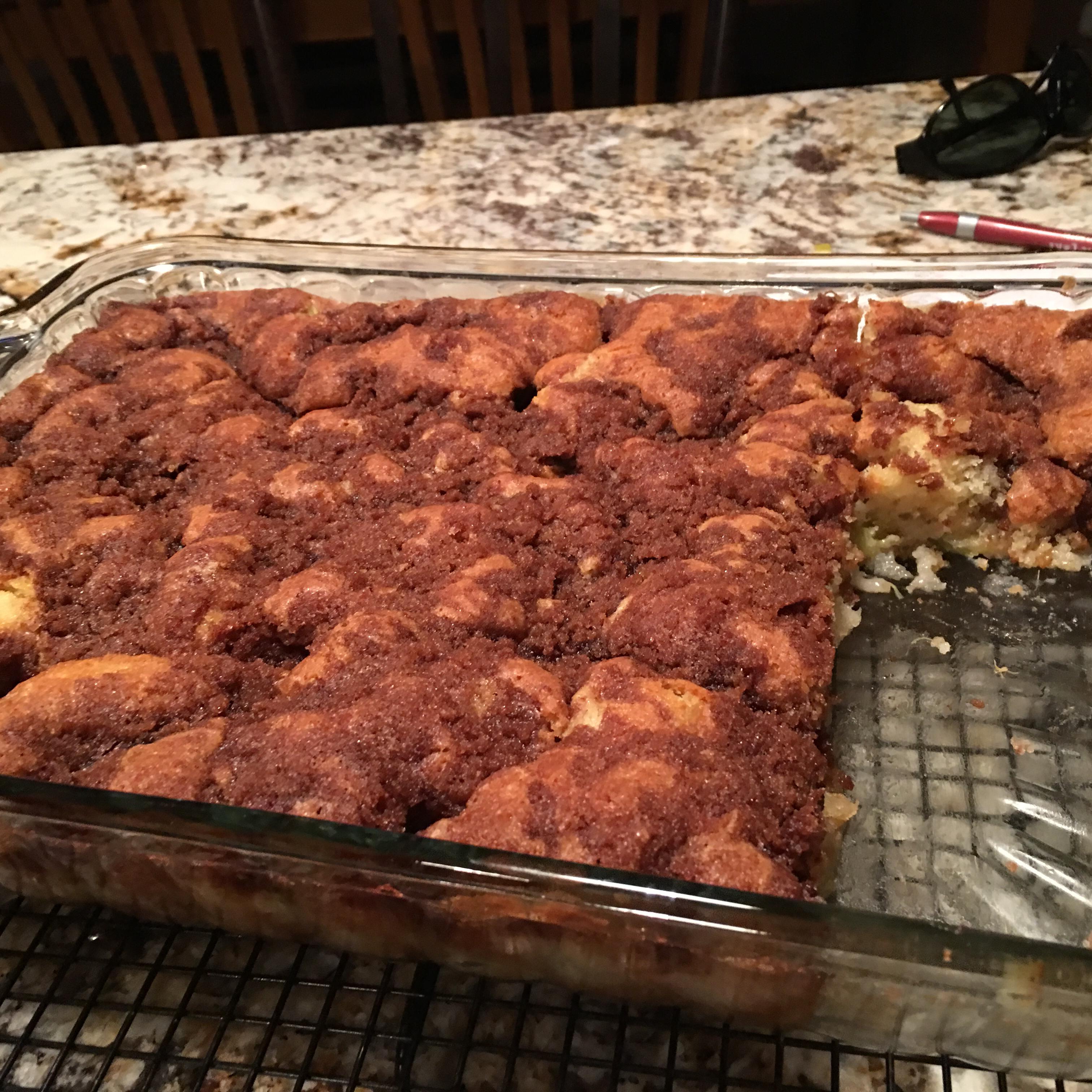 Rhubarb Cake I Carol jselle