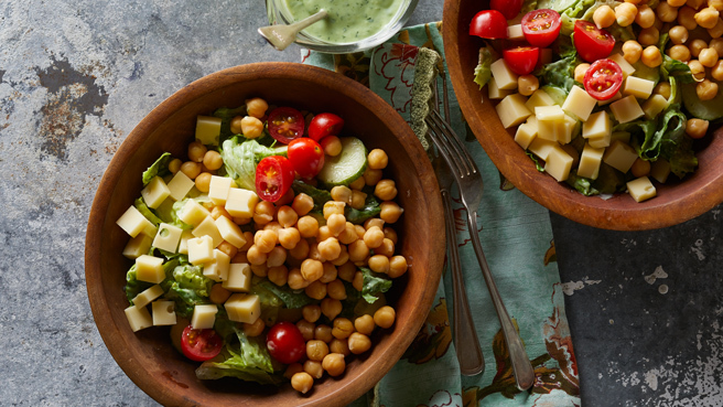 Green Goddess Salad with Chickpeas Trusted Brands
