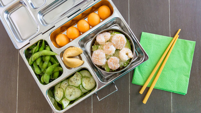 Deconstructed Sushi Bento Lunch Trusted Brands