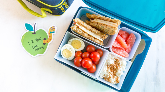 Breakfast-for-Lunch Bento for Kids Trusted Brands