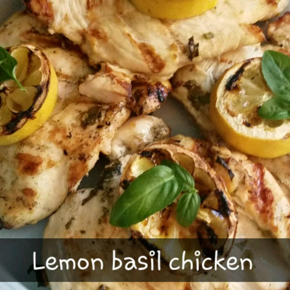 Lemon Basil Grilled Chicken
