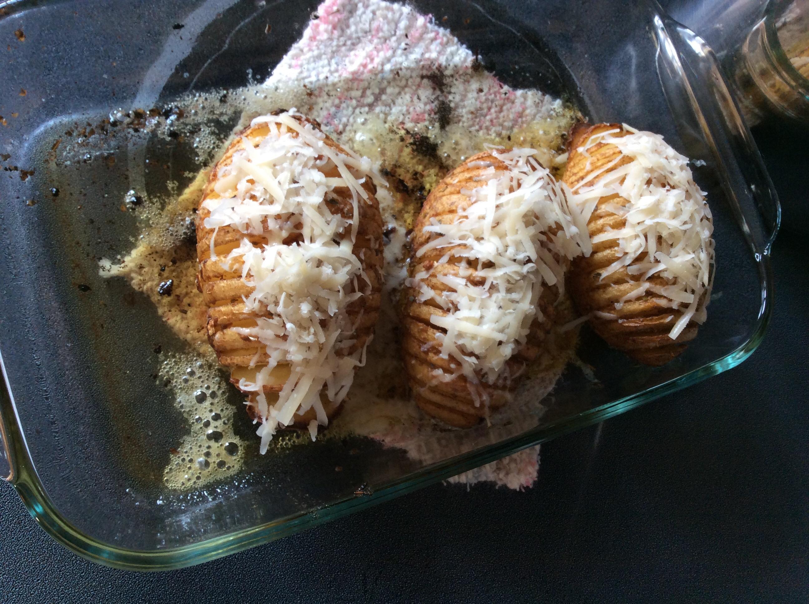 Fabienne's Hasselback Potatoes