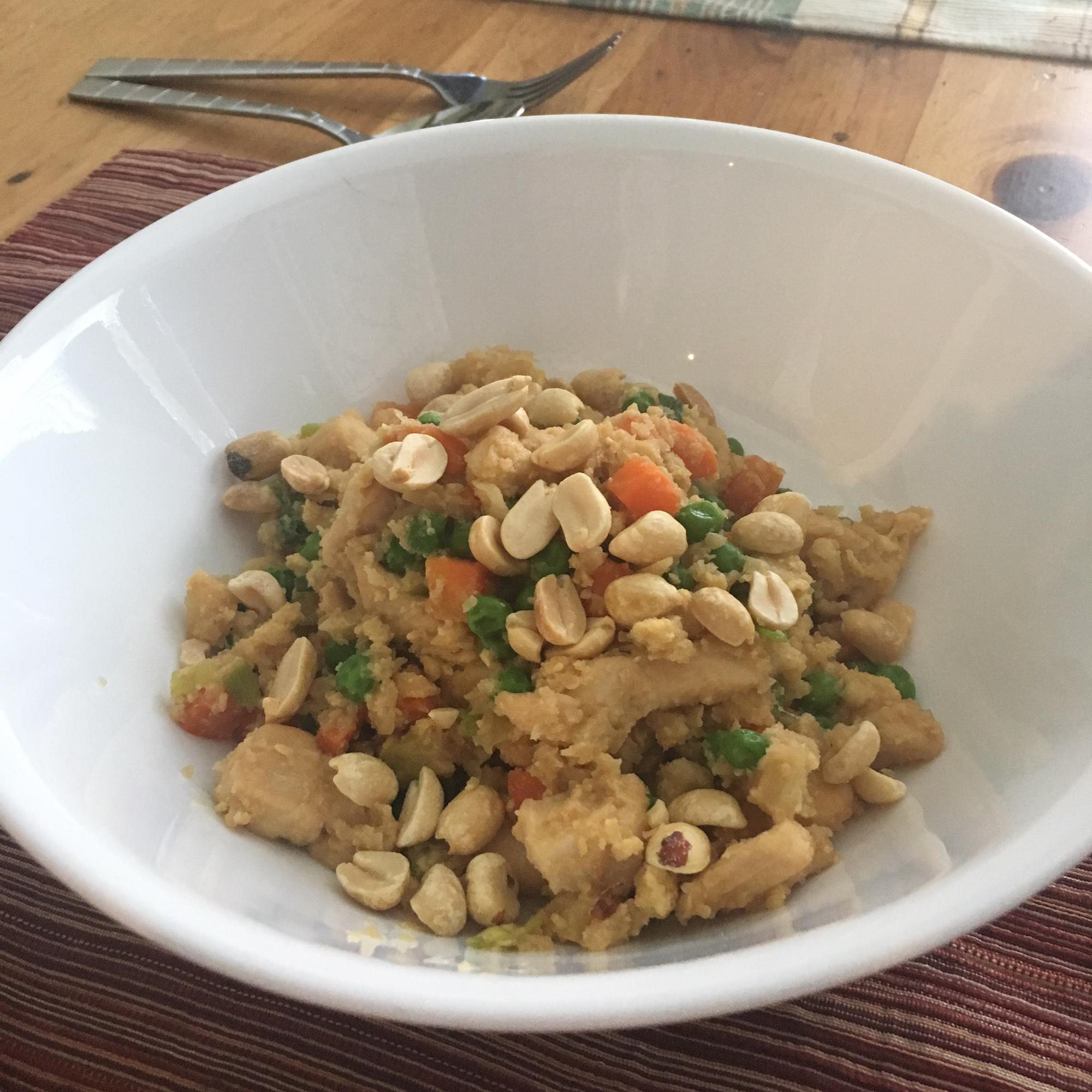 Cauliflower Chicken Fried Rice Stacey Divis Head