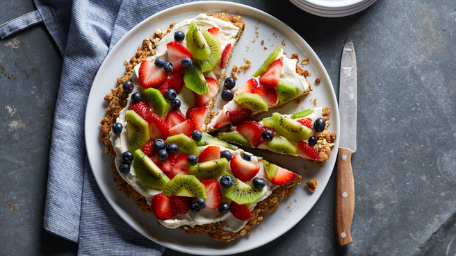 Oatmeal Cookie Fruit Pizza Trusted Brands
