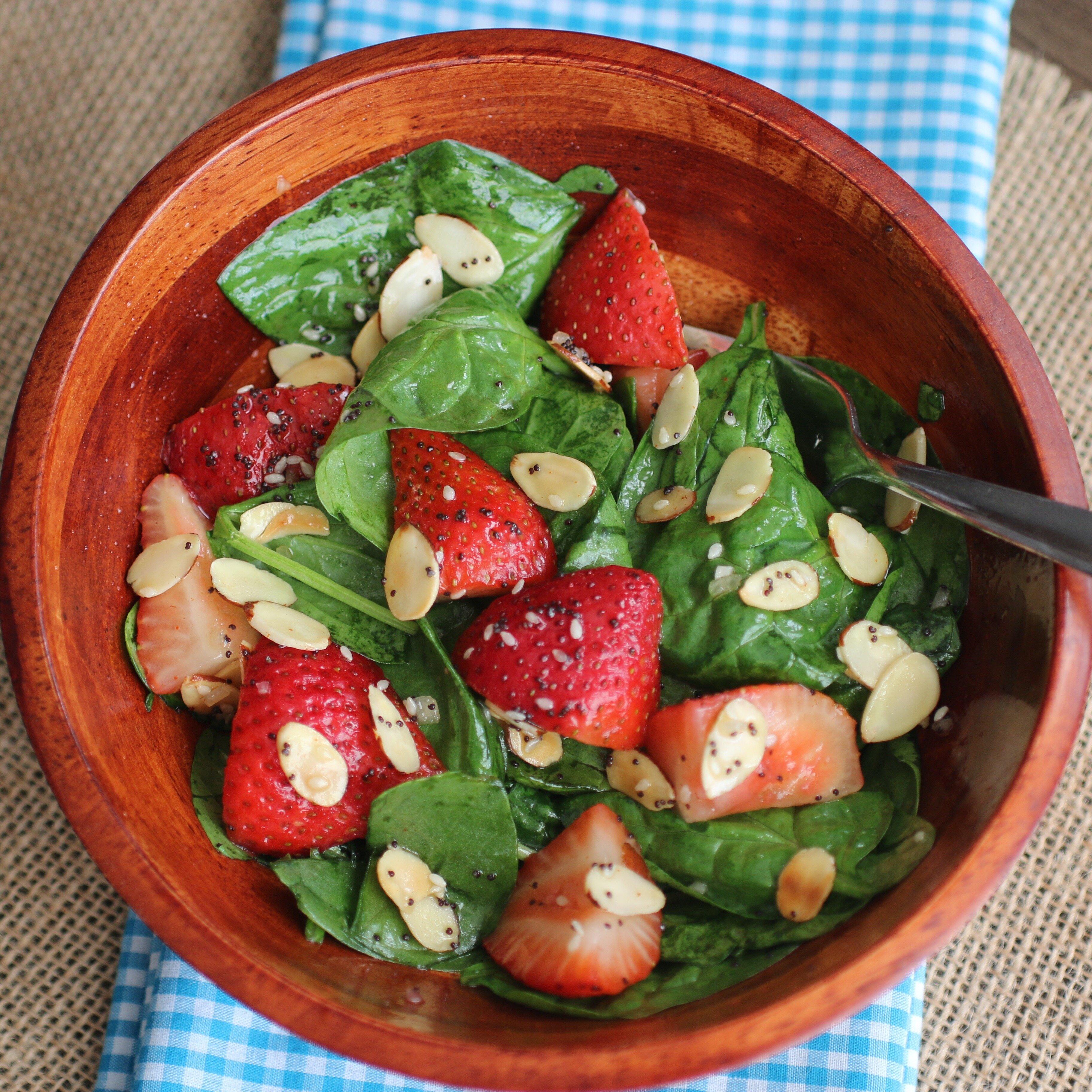 Strawberry Spinach Salad I Recipe Allrecipes