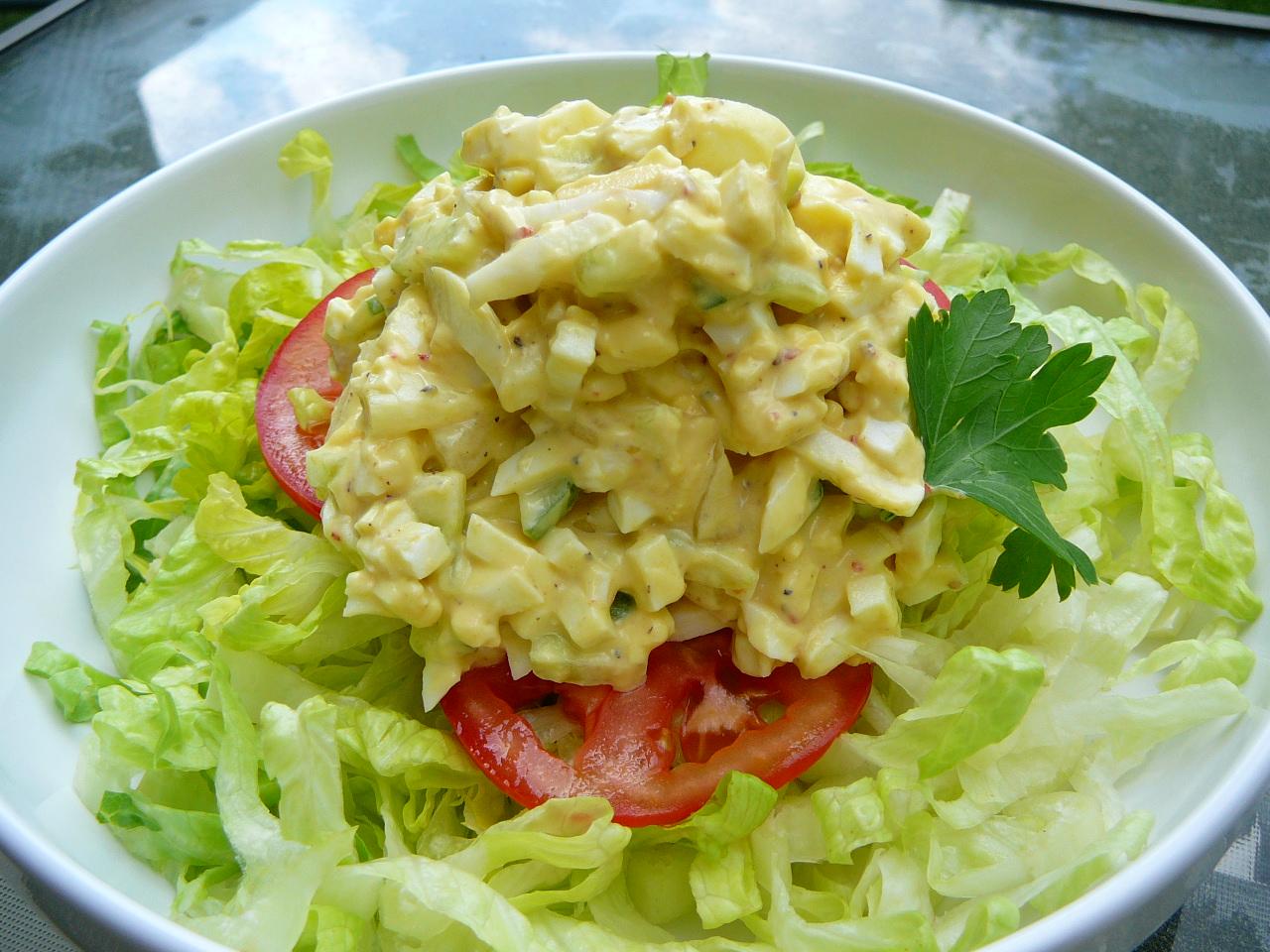 Simple Egg Salad Molly