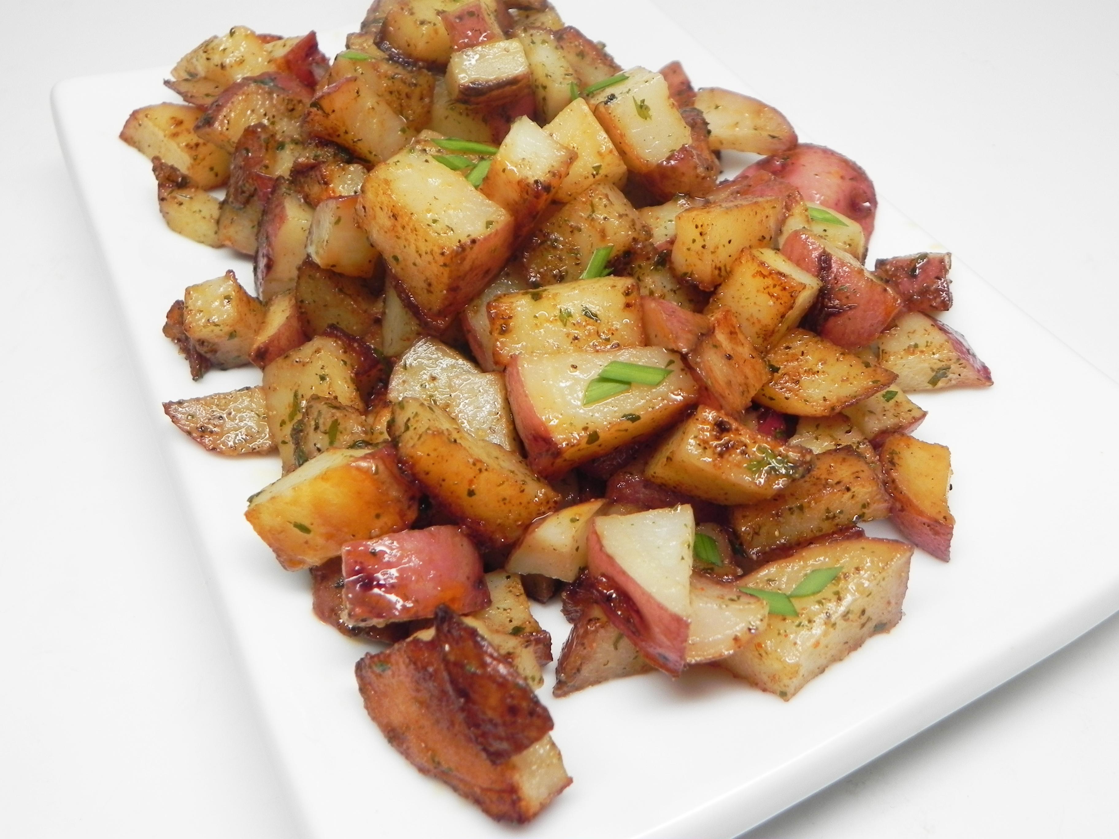 Pan-Roasted Red Potatoes Shyla Lane
