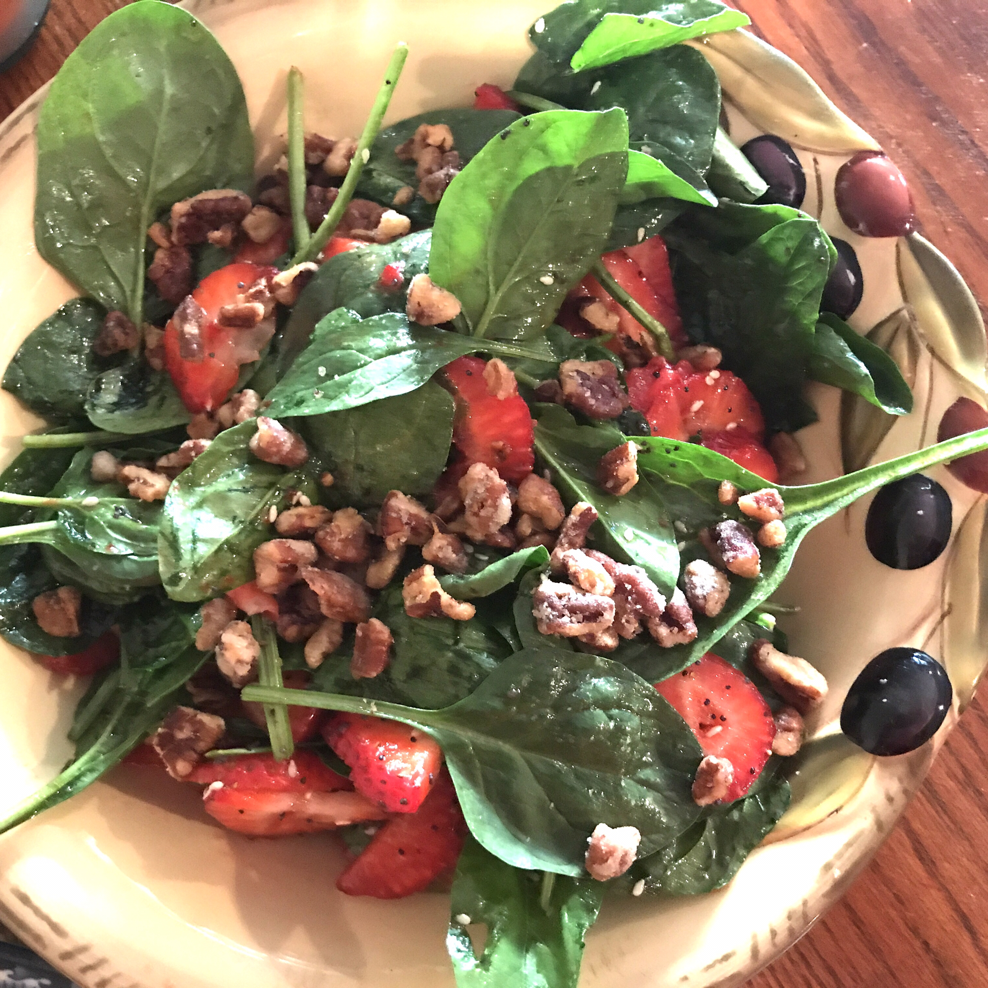 Spinach and Strawberry Salad Marc Johnston