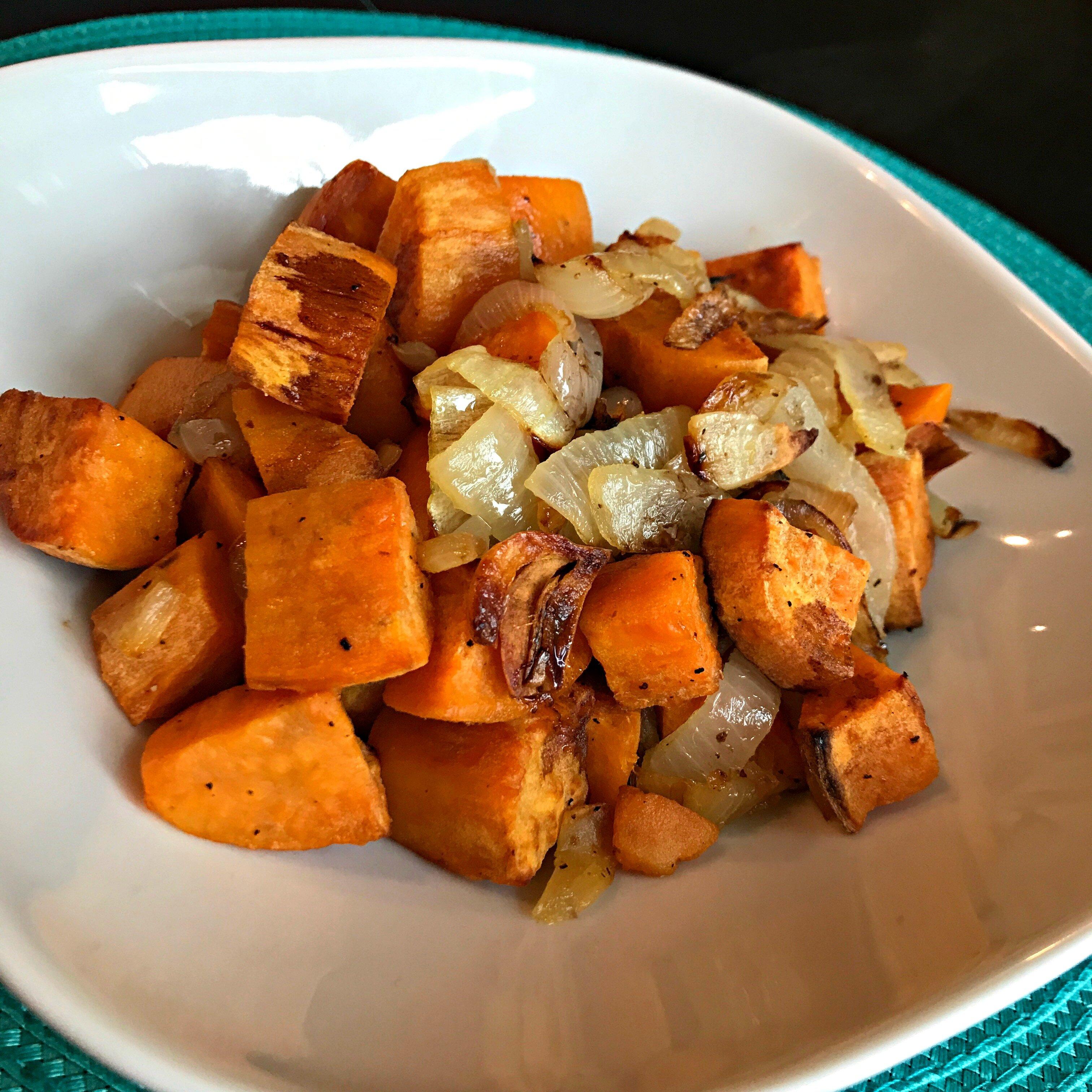 Oven Roasted Sweet Potatoes Recipe Allrecipes