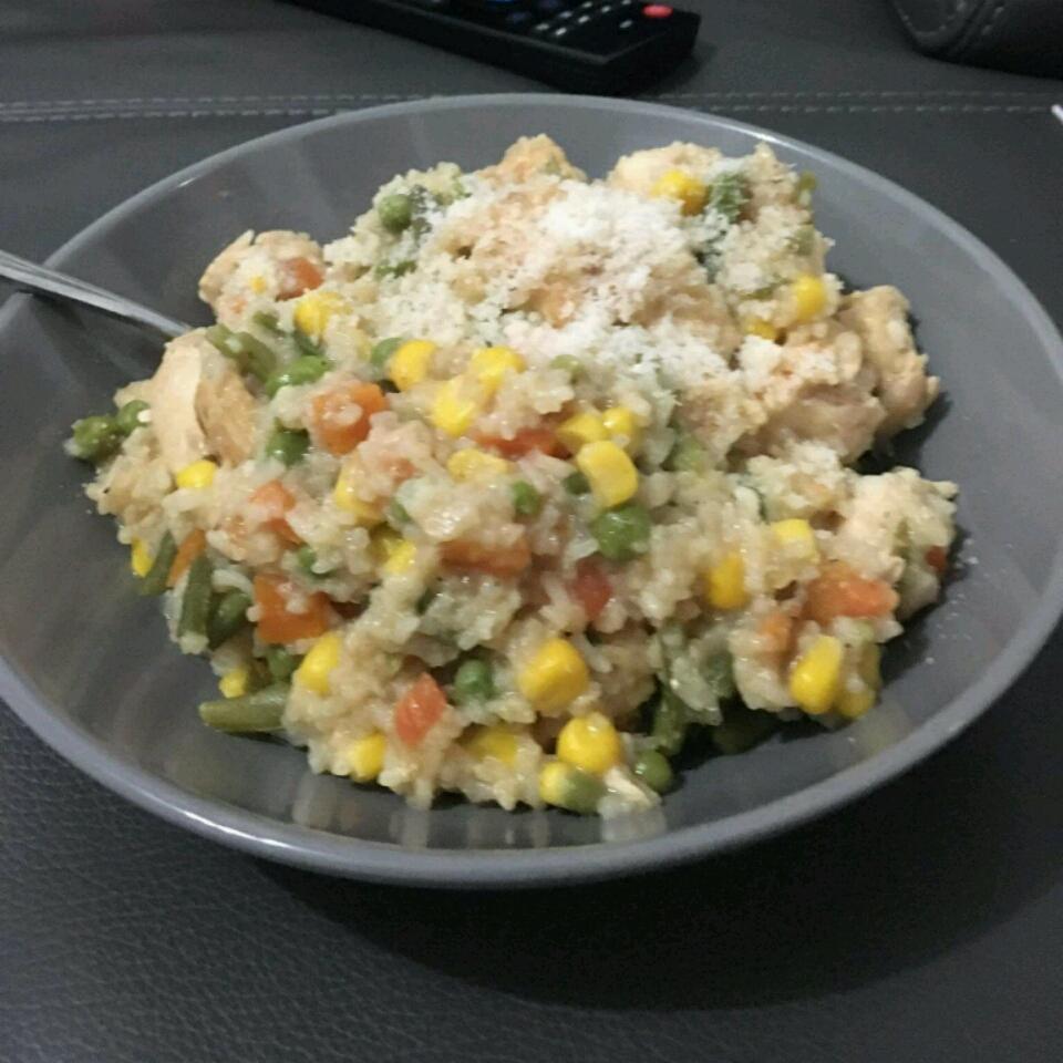 Skillet Garlic Chicken Dinner