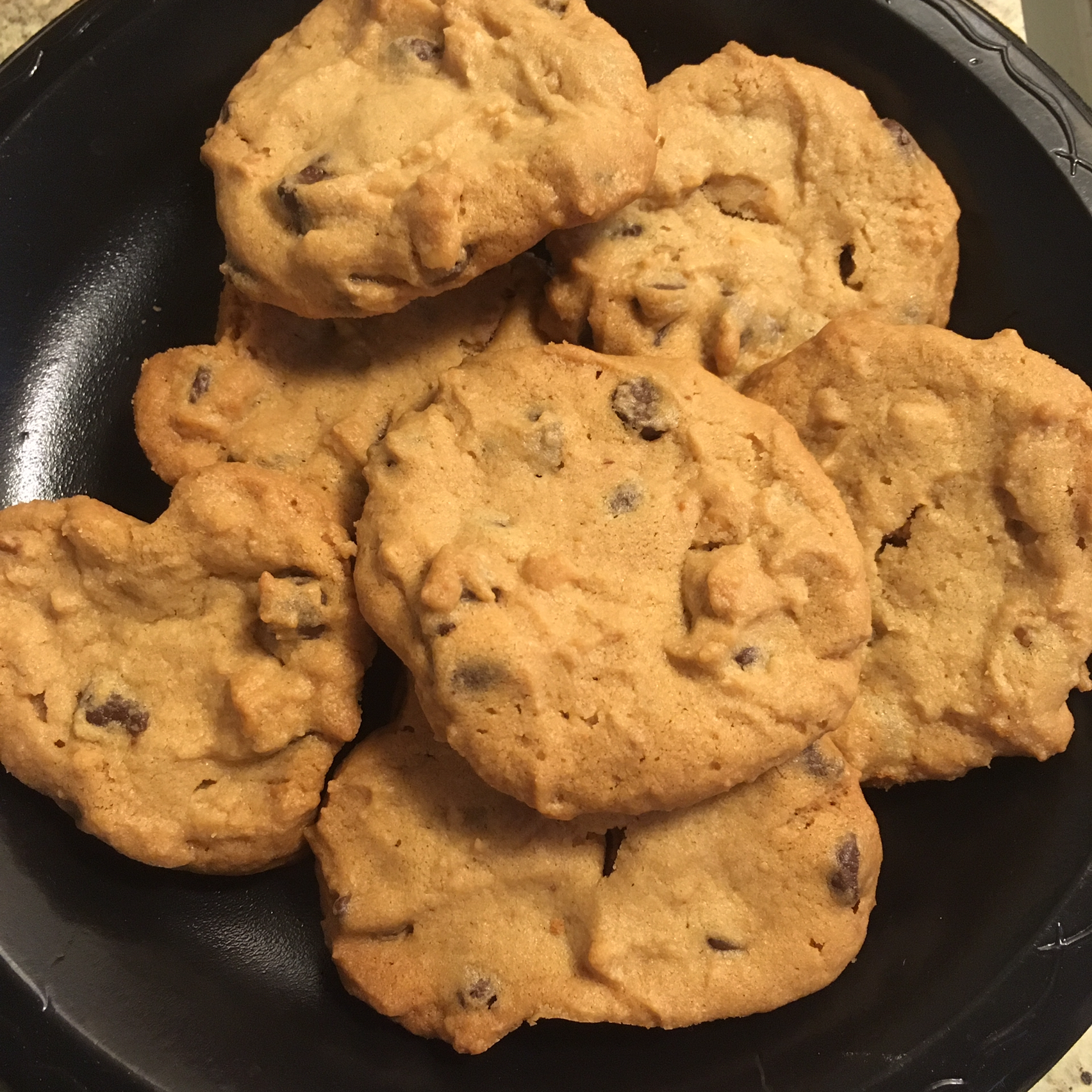 Peanut Butter Chocolate Chip Cookies II Olga Bukanova