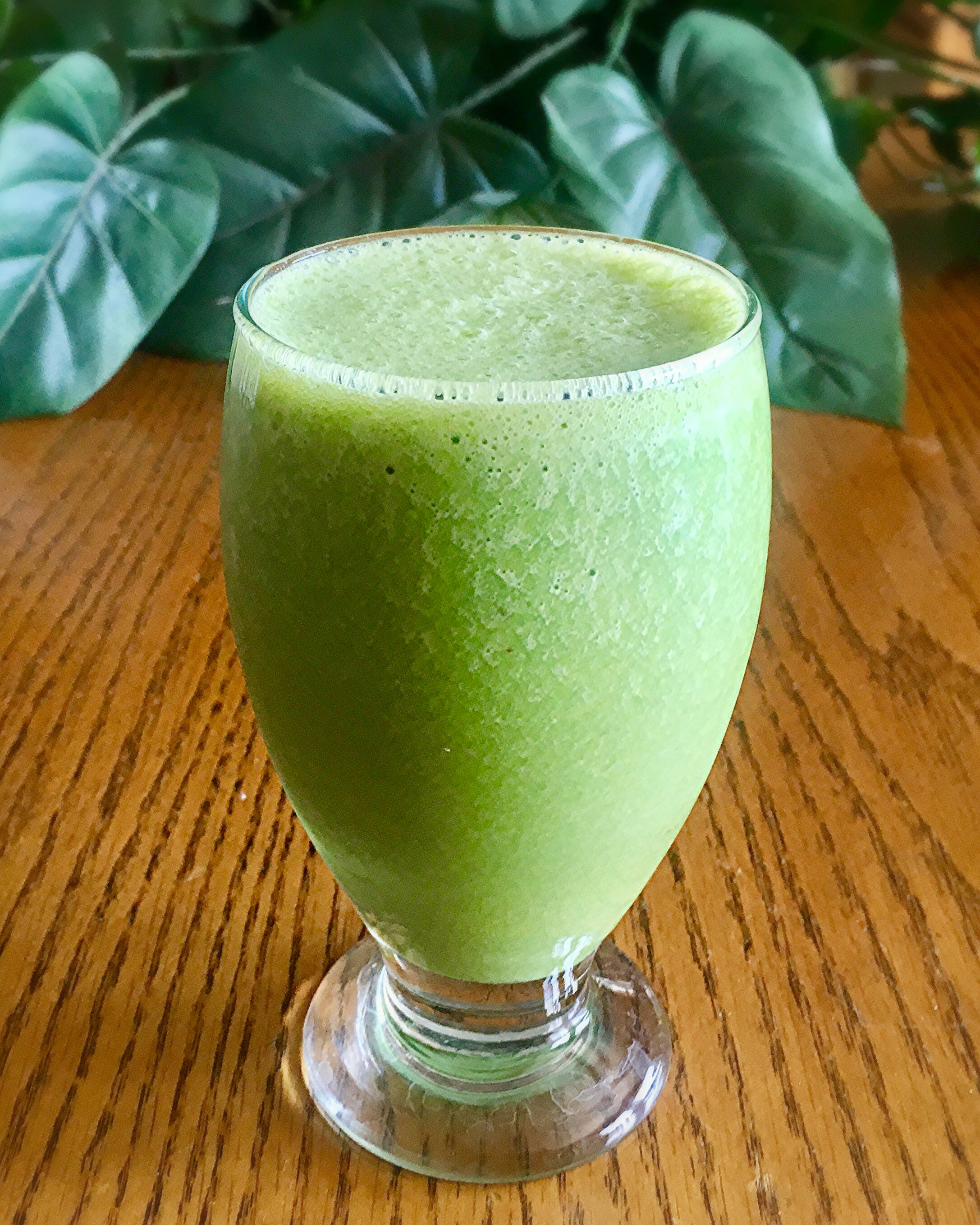 Spinach and Banana Power Smoothie Yoly