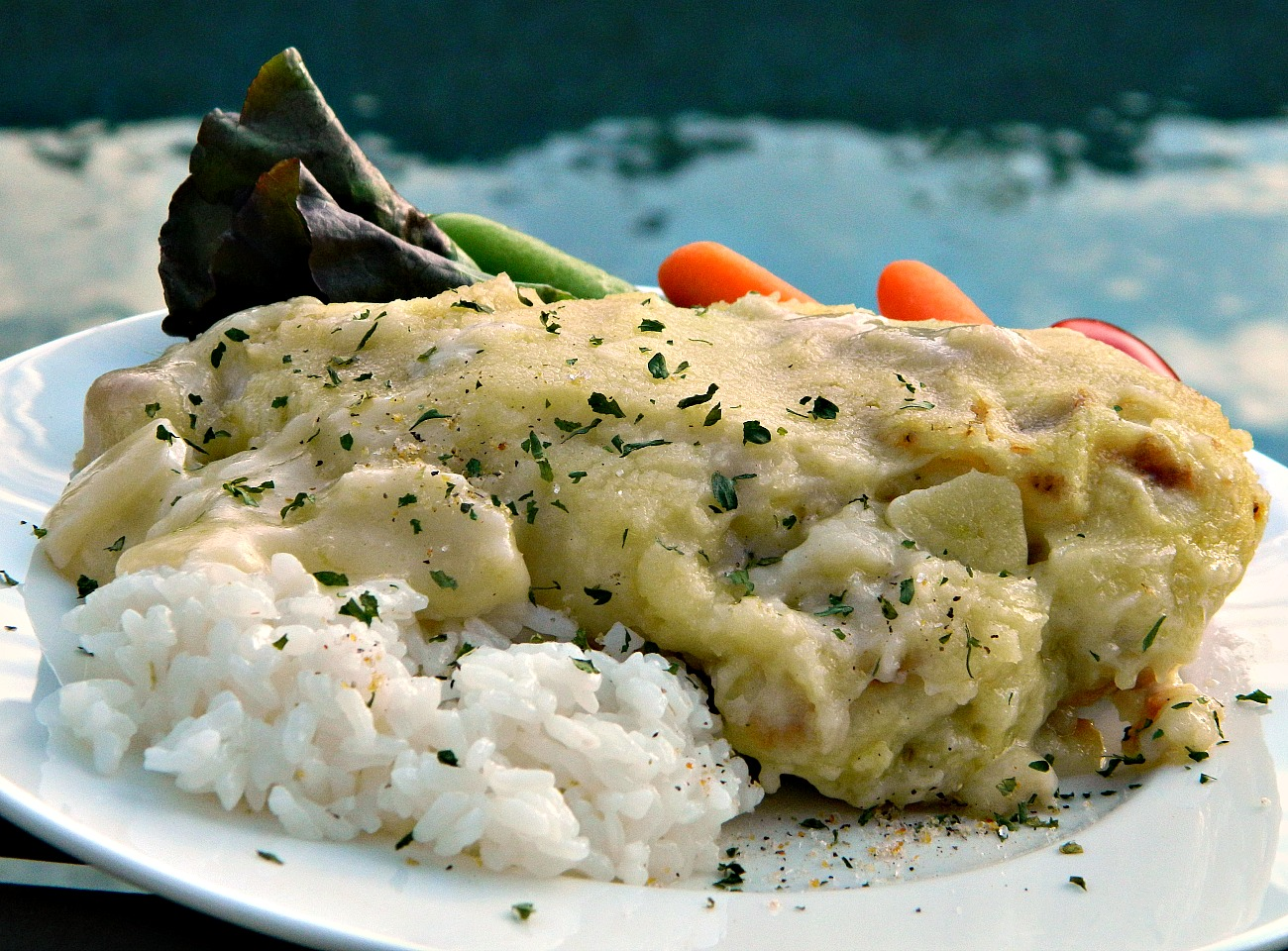Chicken Francese, Italian-Style