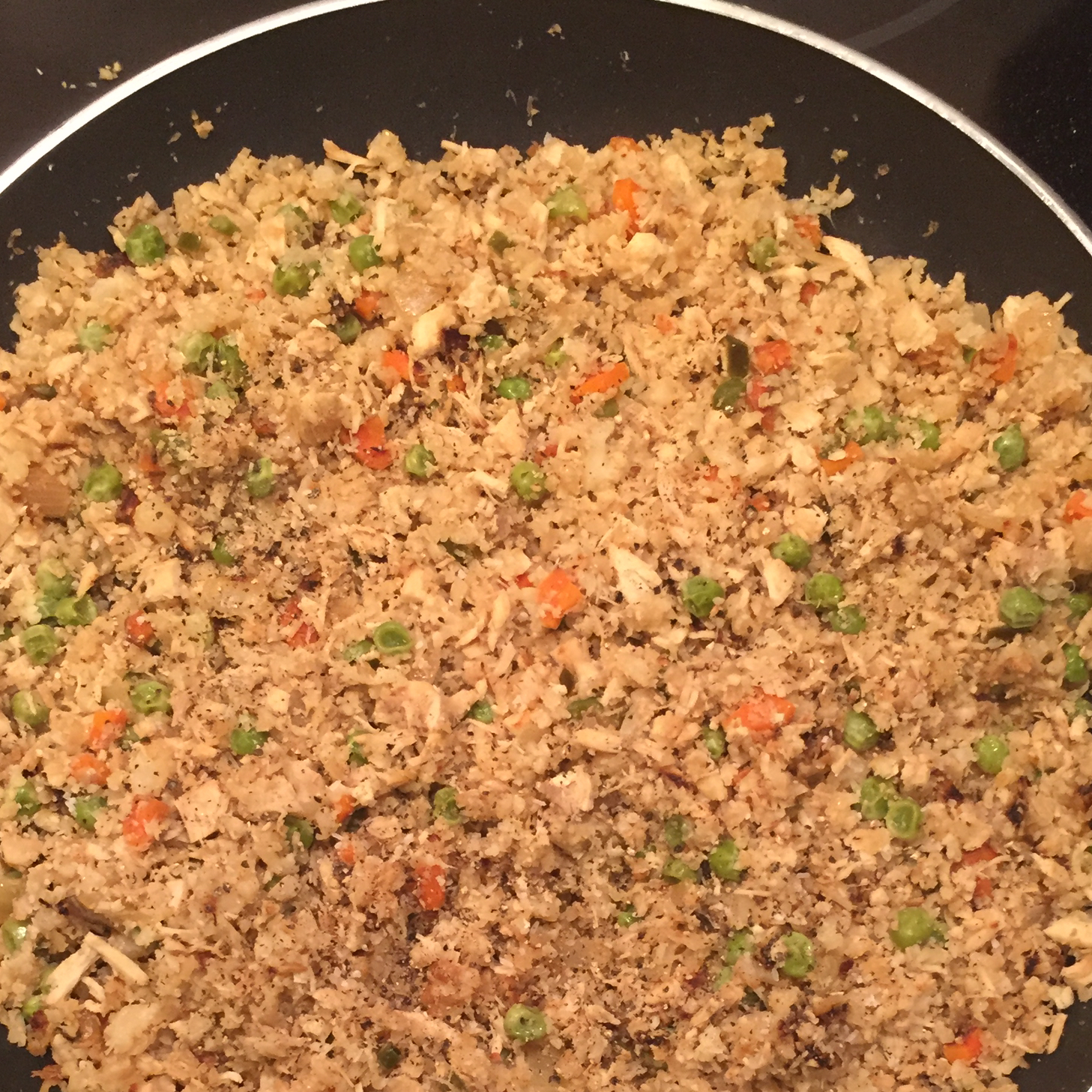 Cauliflower Fried 'Rice' Amonda