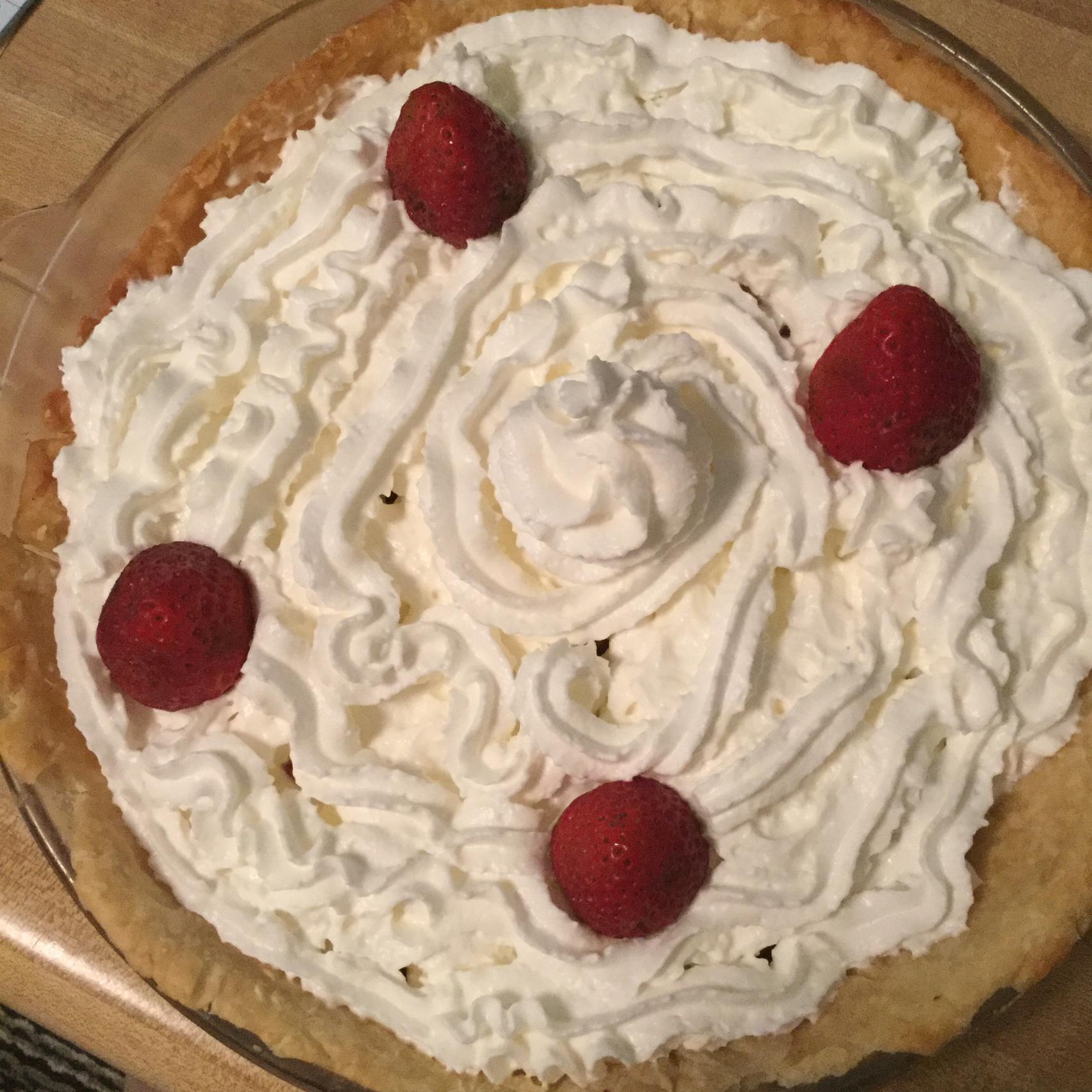 Mona's Fresh Strawberry Pie