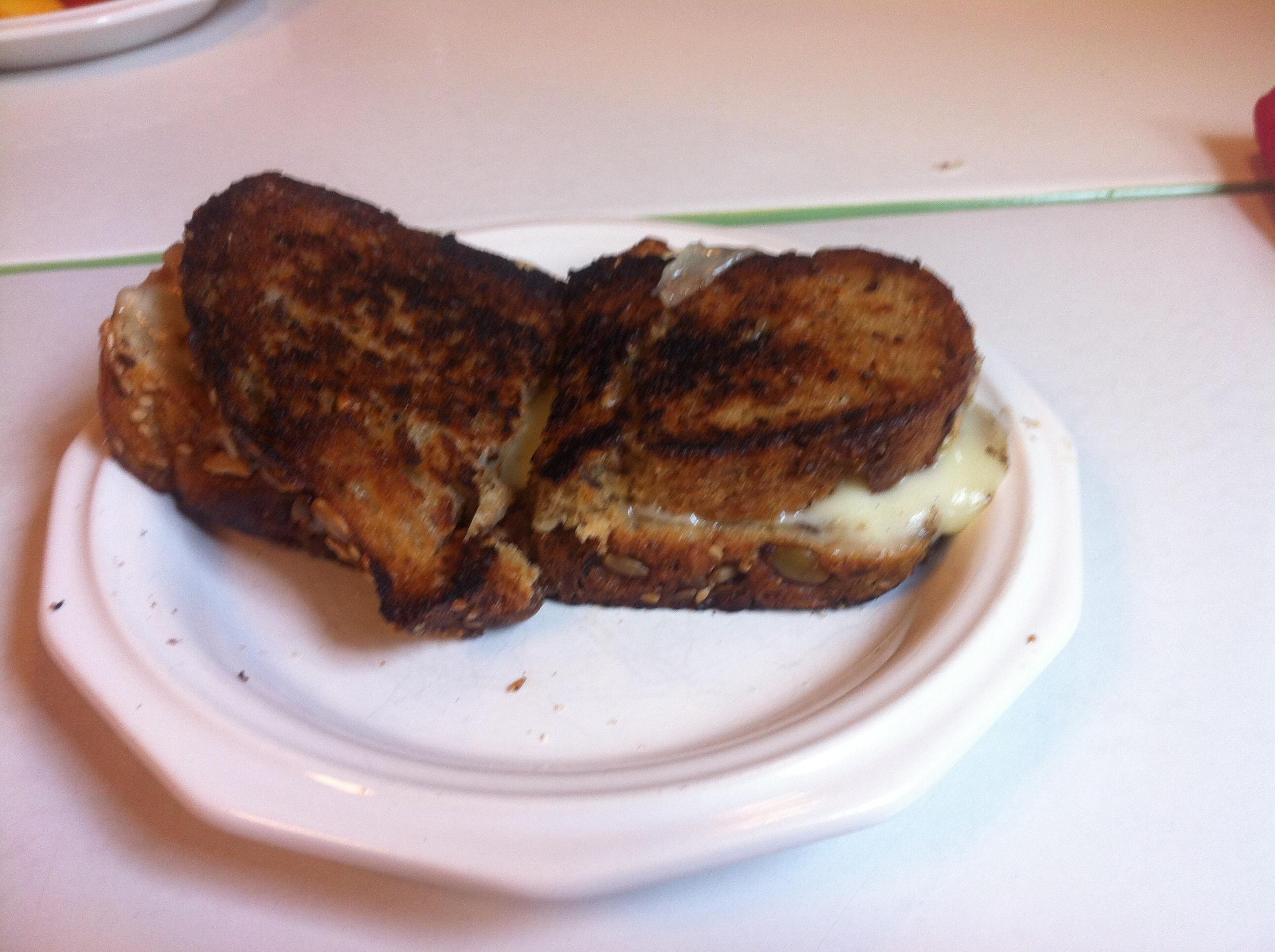 Grilled Cheese Sandwich Brett Sherman