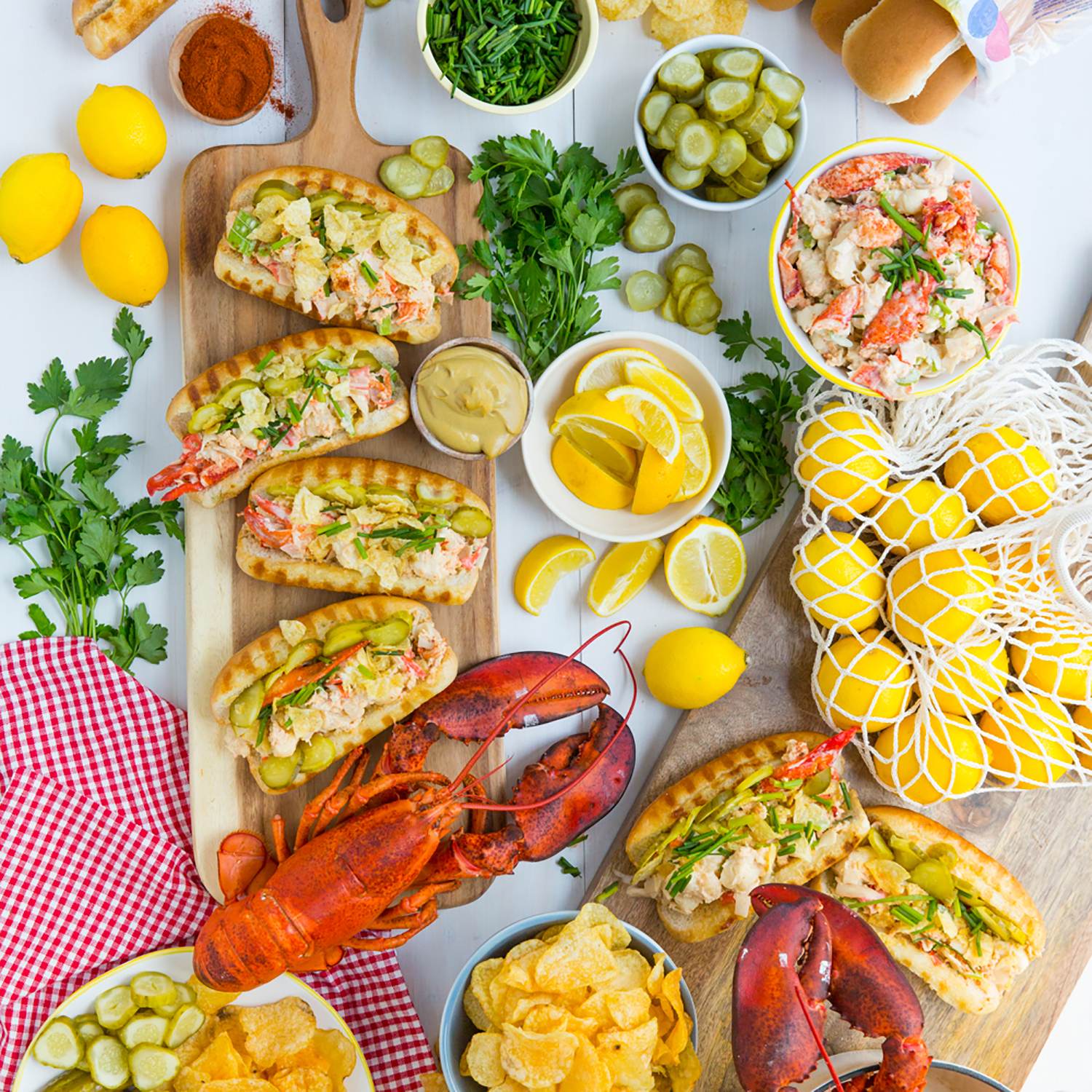 East Coast-Inspired Lobster Roll