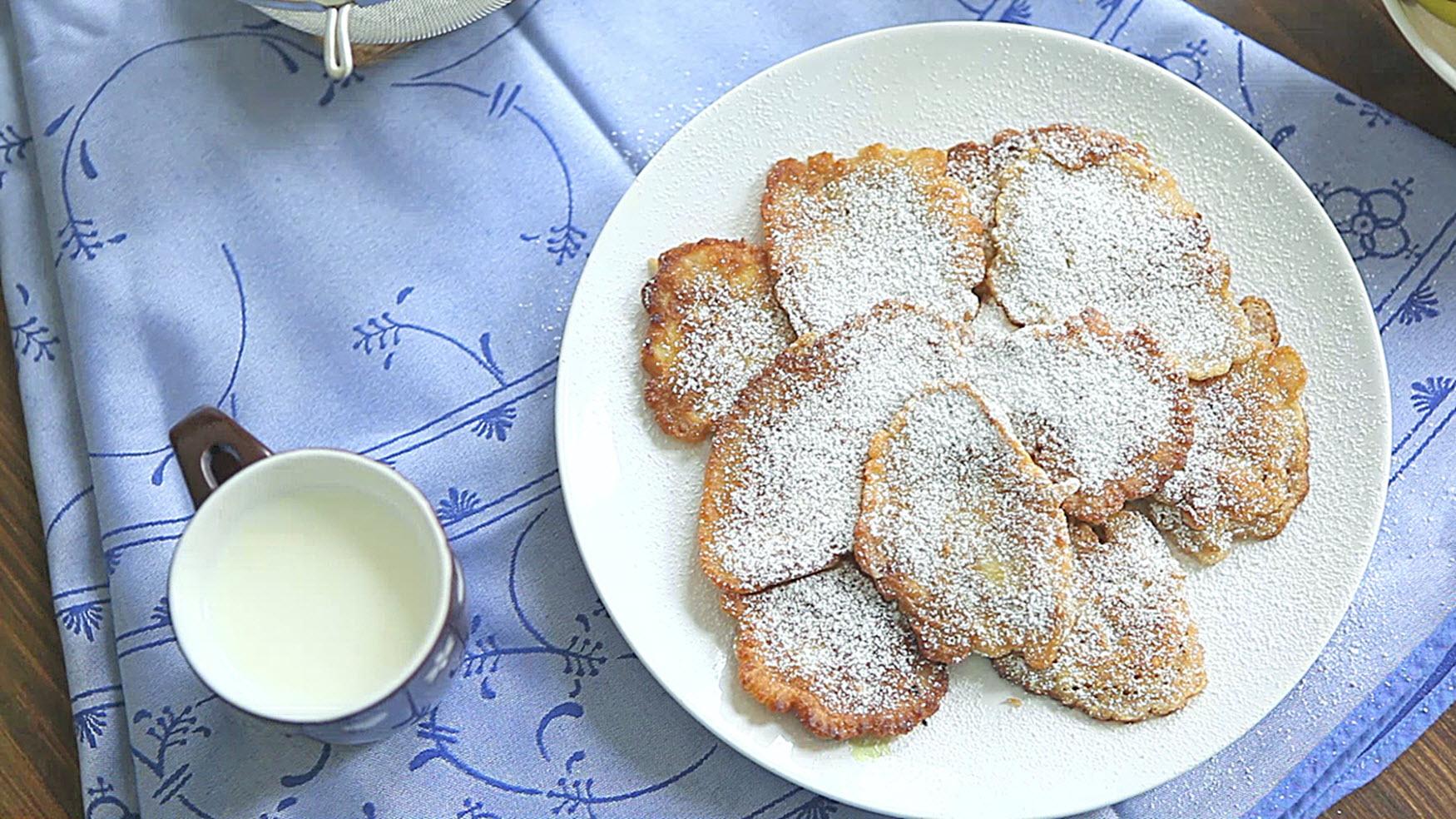Racuchy z Jablkami (Polish Apple Pancakes) Olenka