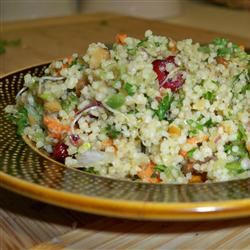 Whole Wheat Vegan Couscous Salad