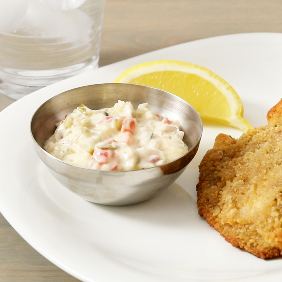 Easy Tartar Sauce EatingWell Test Kitchen