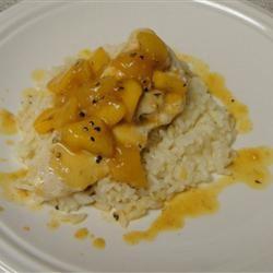 Orange Mango Chicken CuriousCook