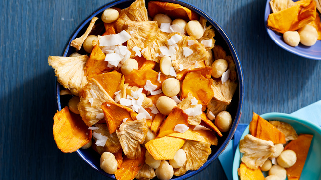 Tropical Snack Mix Trusted Brands