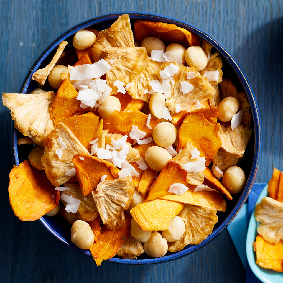 Tropical Snack Mix Carolyn Casner