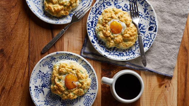 Parmesan Cloud Eggs Trusted Brands