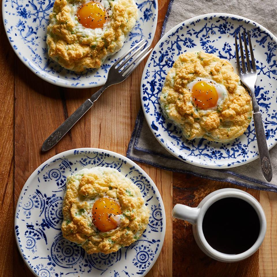 Parmesan Cloud Eggs Carolyn Casner