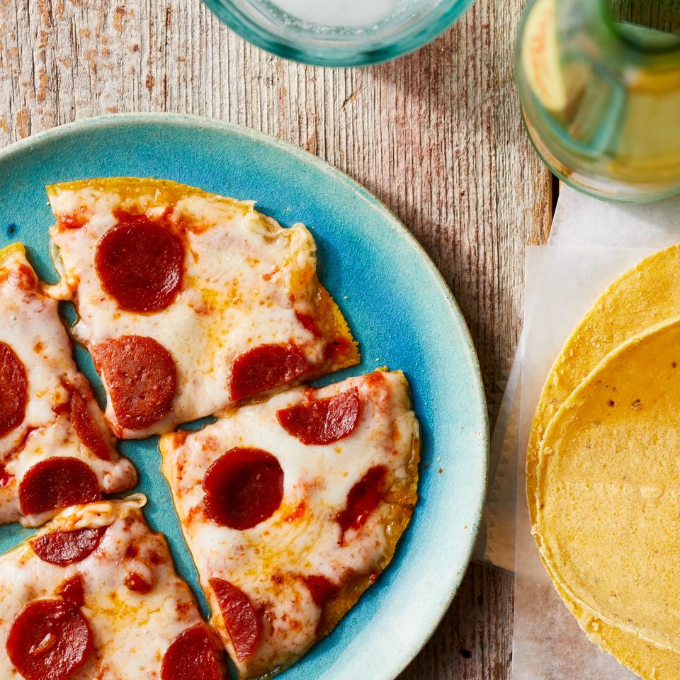 Mini Pepperoni Pizza Carolyn Casner