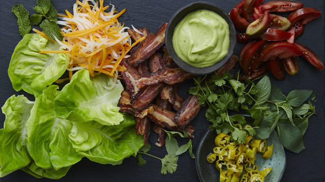 Vietnamese BLT Wraps Trusted Brands