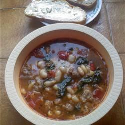 Sausage and Bean Ragout