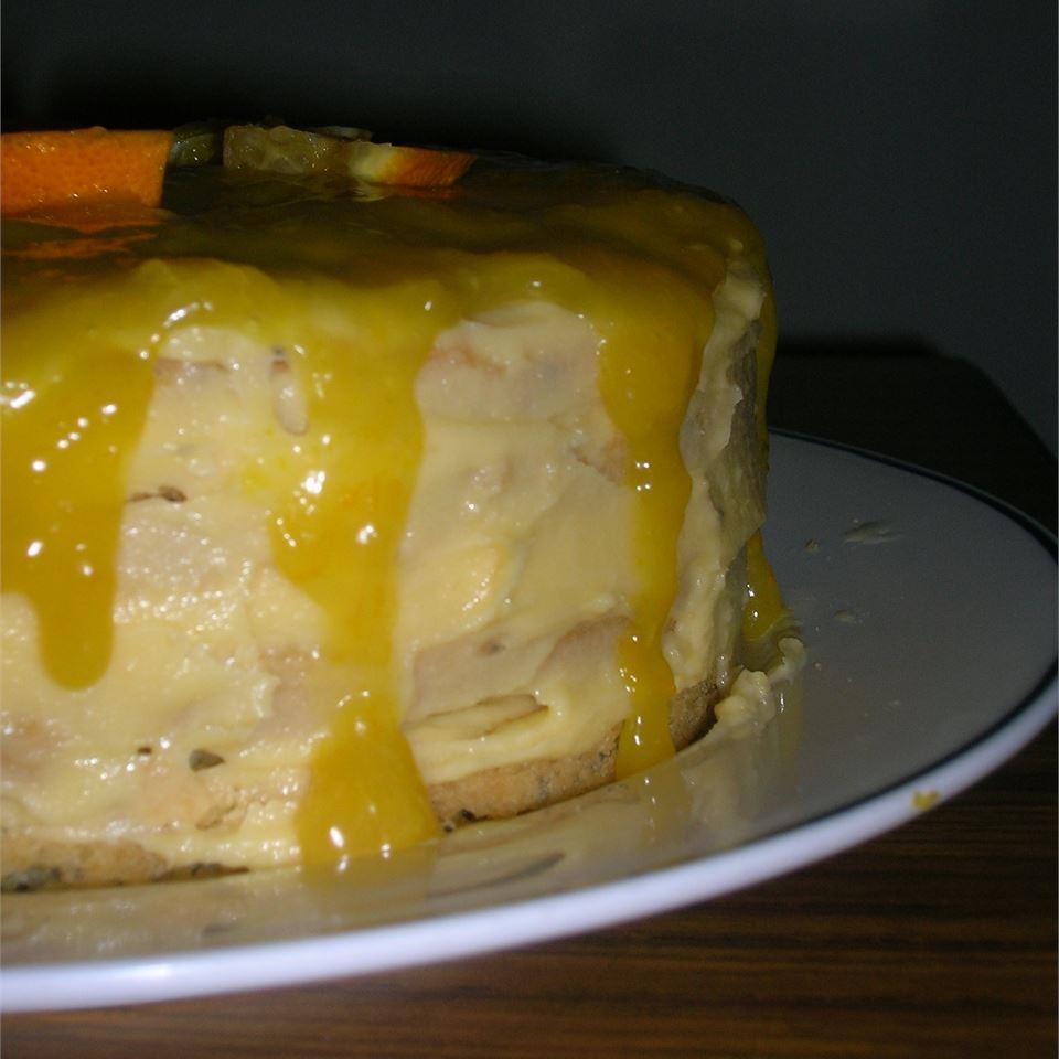 Poppy Seed Torte with Orange Glaze Ramoo