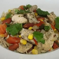 Cilantro Chicken and Rice Rock_lobster
