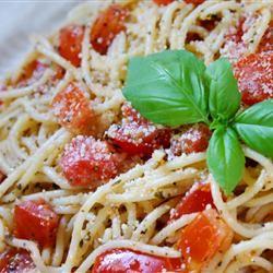 Fresh Tomato Pasta glutenfree mommy of 3