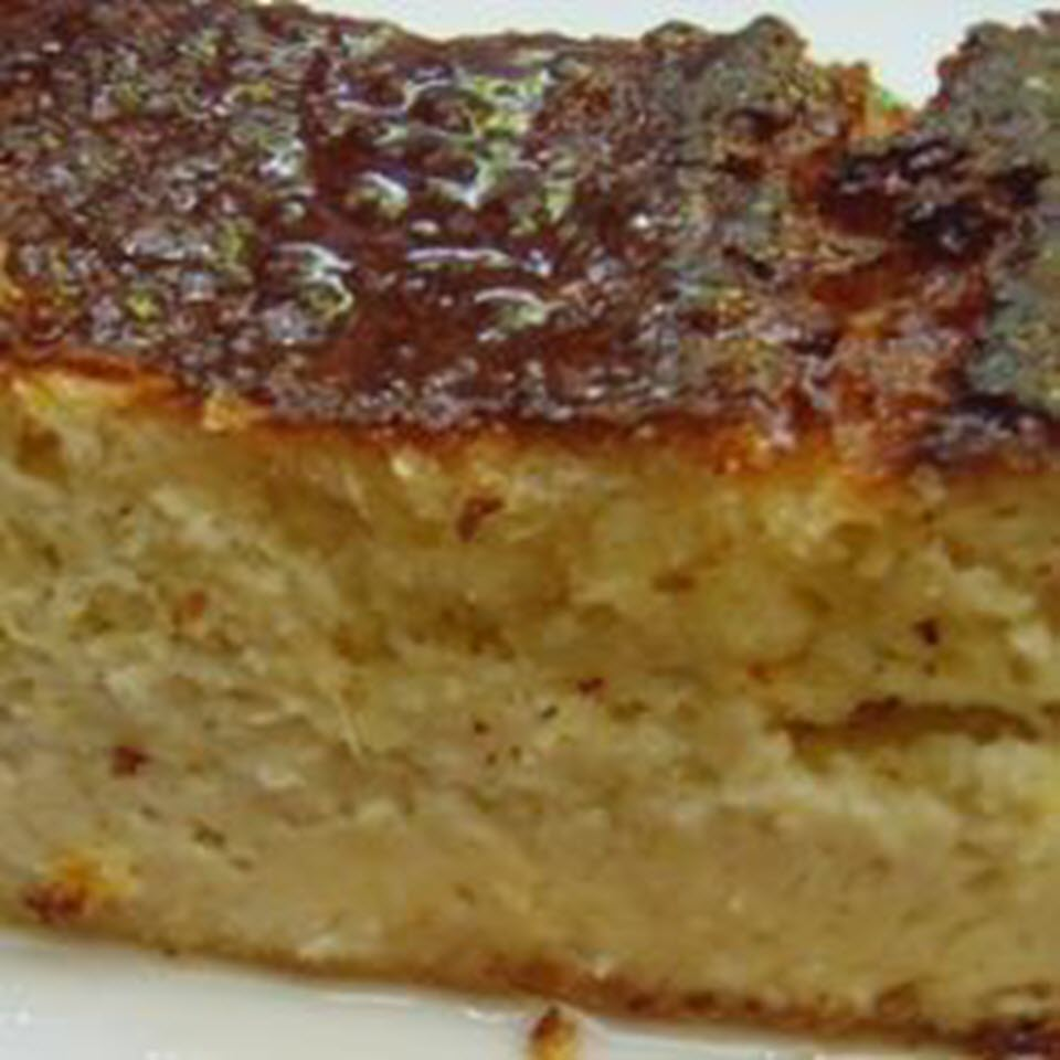 """""""A delicious and moist Mexican cake made with fresh sweet corn kernels and sweetened with condensed milk,"""" says Elva_Adriana. """"A traditional recipe from the state of Jalisco."""""""