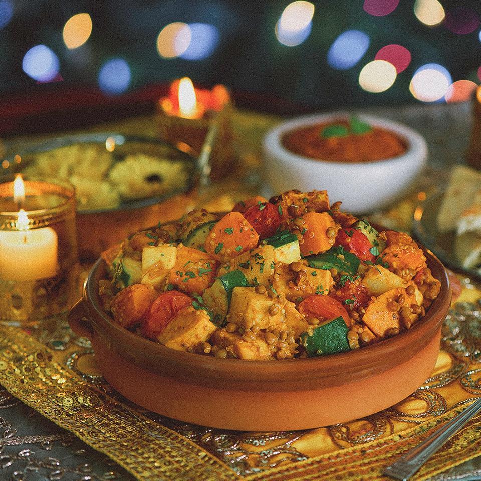 Tandoori Roasted Root Vegetable Stew