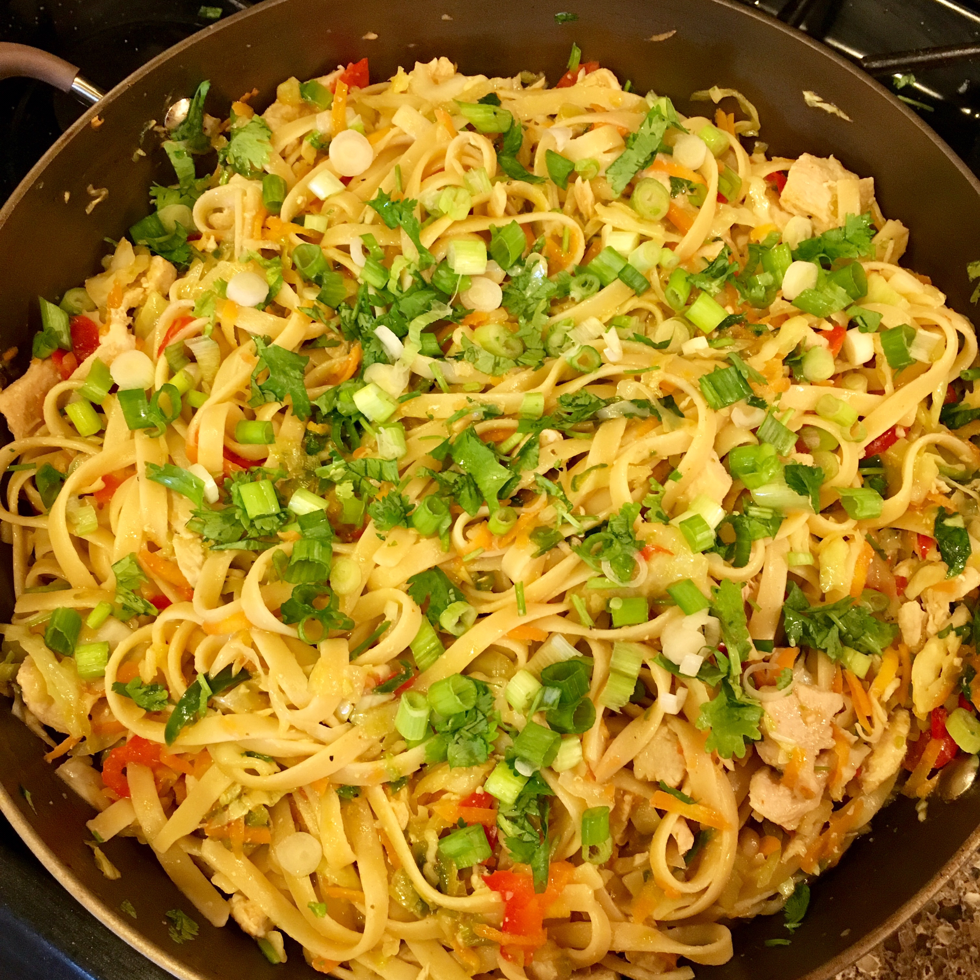 Spicy Chicken Noodles Val C.
