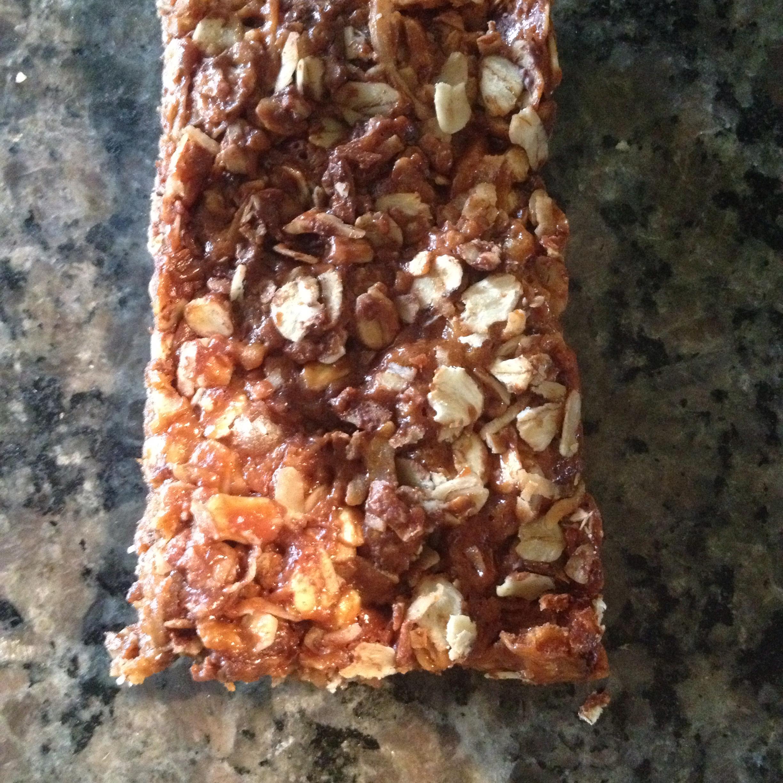 Granola Bars Miss Bake