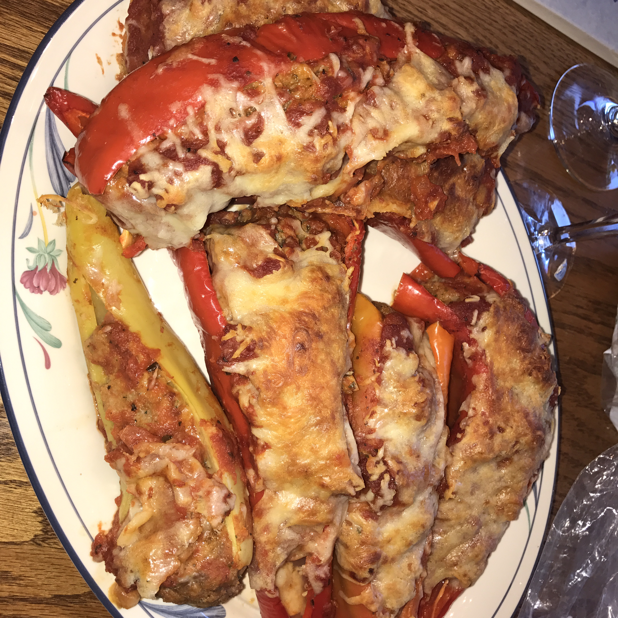 Bob's Stuffed Banana Peppers karen