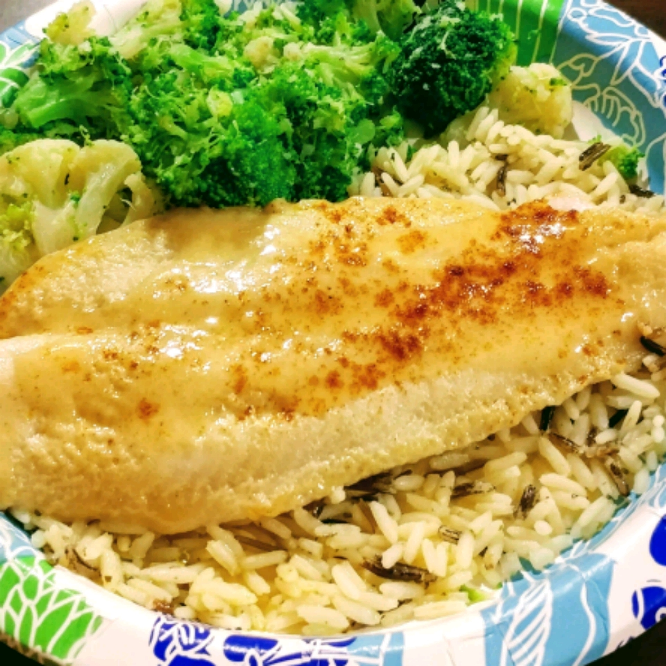 Sweet Dijon Basa Swai Fish (or a fish of your choice)