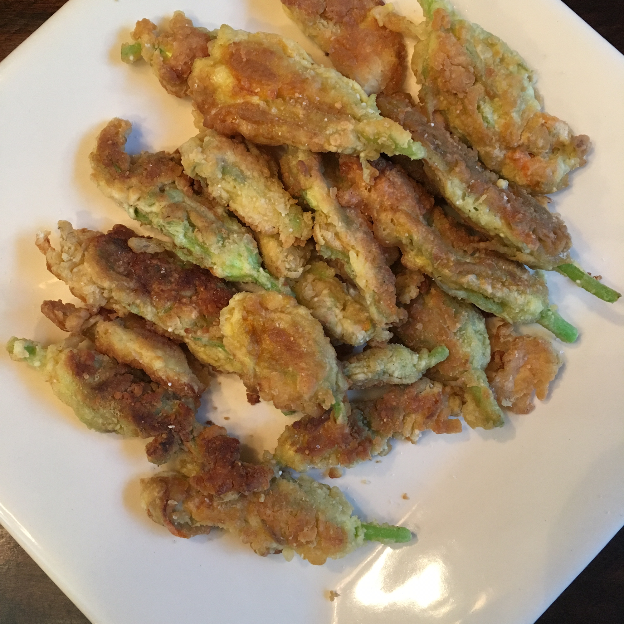 Fried Zucchini Flowers sofiepie