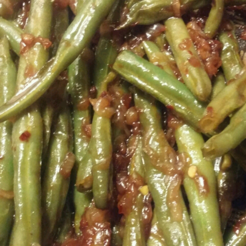 Spicy Szechuan Green Beans