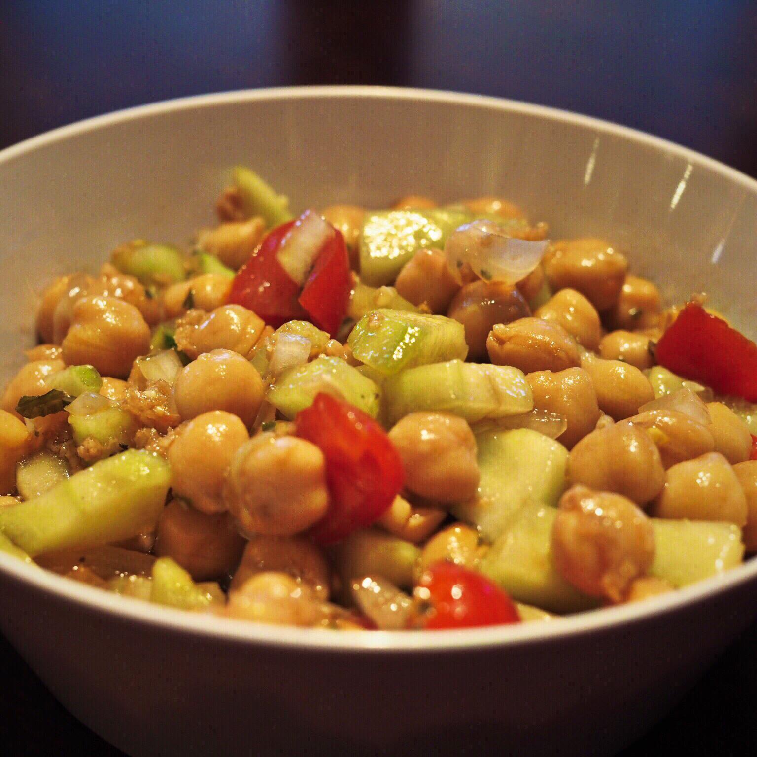 Chickpea Salad II Kelly