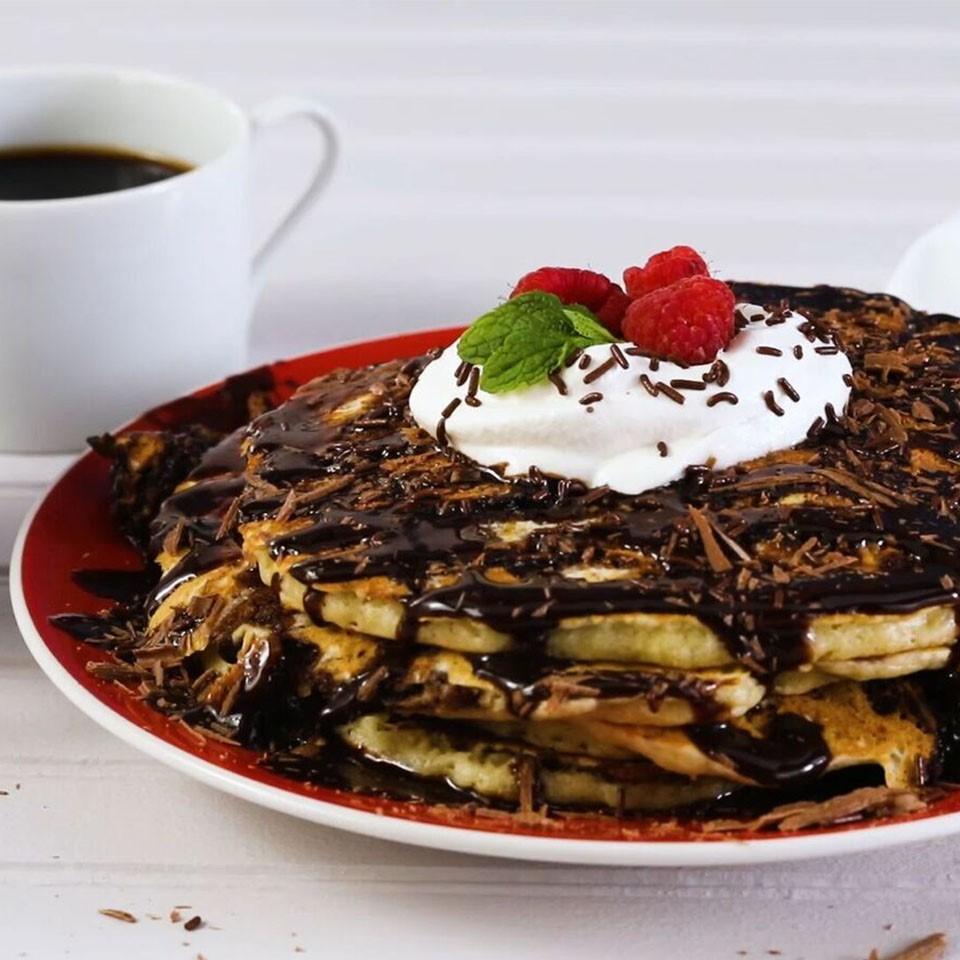 Brookie Pancakes
