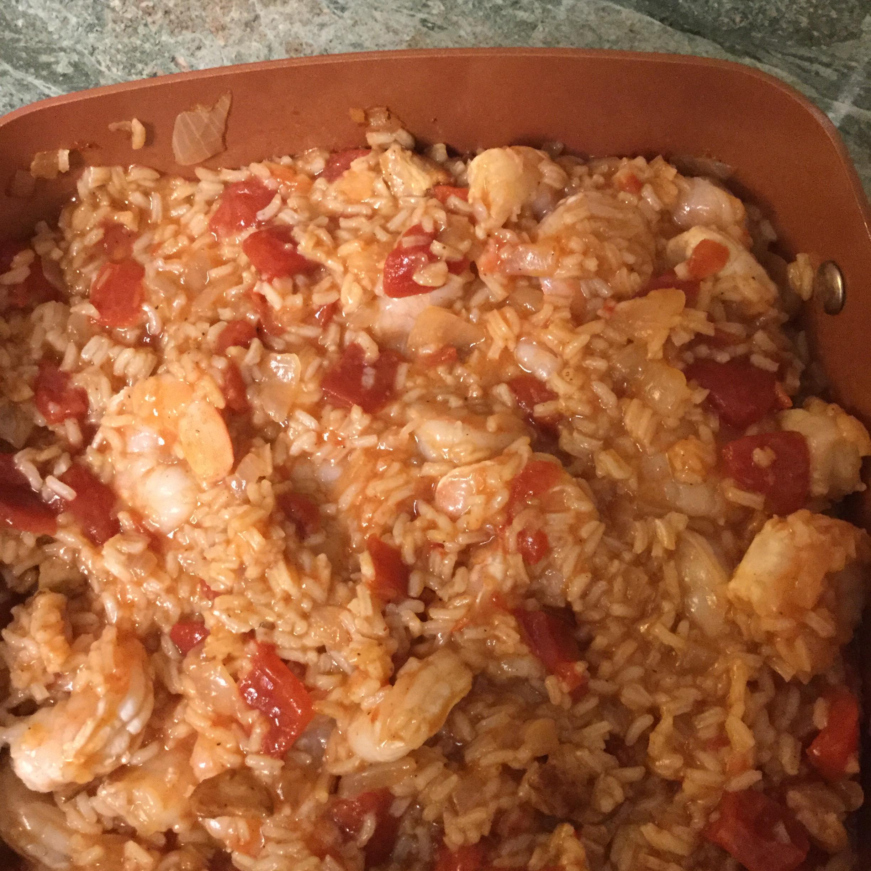 Island Shrimp and Rice